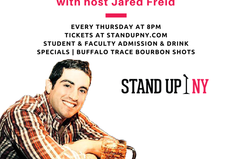 College Comedy Night Stand Up Showcase Student Specials