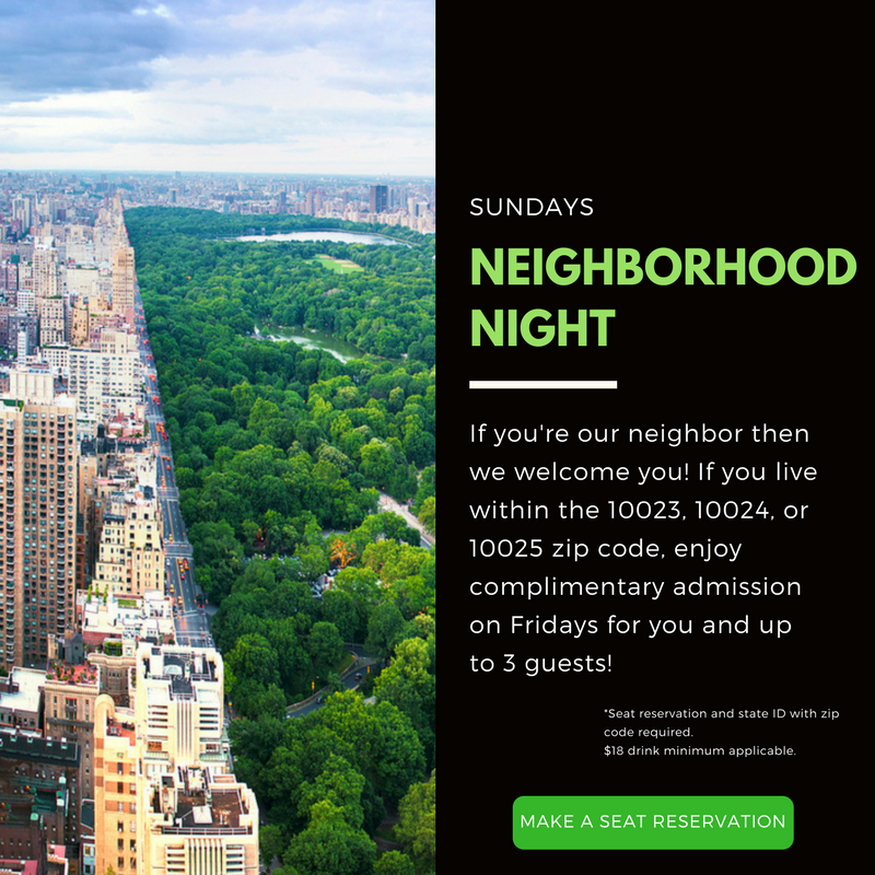 Neighborhood Night, Local Love For Our UWS Neighbors Sunday's at Stand Up NY